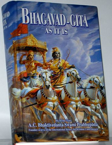 'Bhagavad-Gita teaches the way of life for all of mankind'