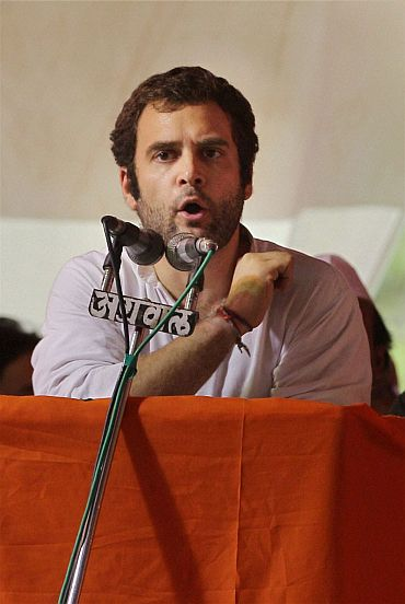 Does Digvijay Singh battle for himself or Rahul?