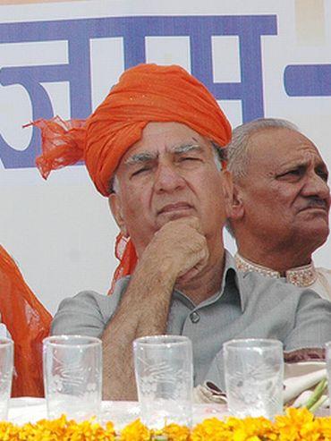 BJP vice-president Shanta Kumar