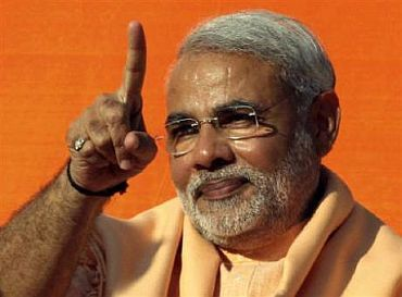 Gujarat Chief Minister Narendra Modi initiated the e-voting experiment in January, 2010