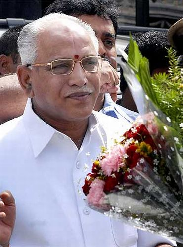 Yeddyurappa: Rs 34 lakhs in bank; has 2.6 kilos of gold