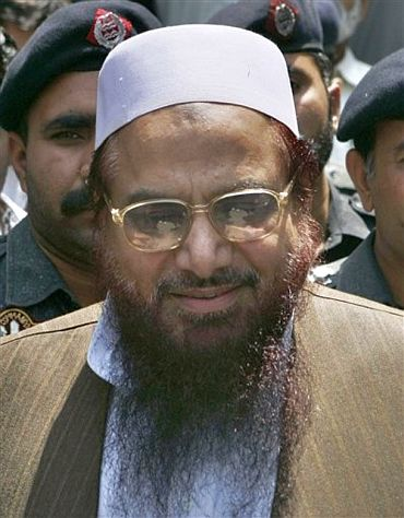 JuD chief Hafiz Mohammad Saeed, one of the masterminds of the 26/11 attacks