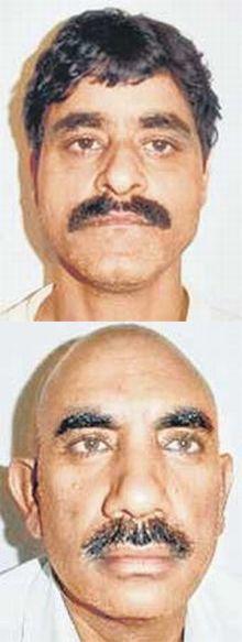 (Above) Riyaz Khatri (Below) Salim Abdul Ghazi