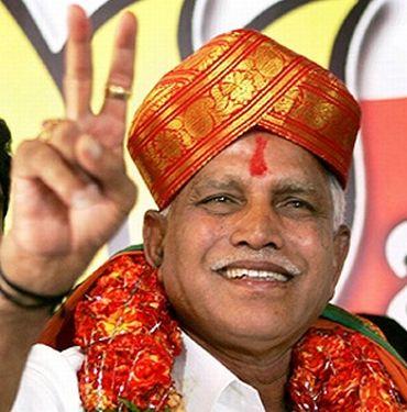 Karnataka CM B S Yeddyurappa