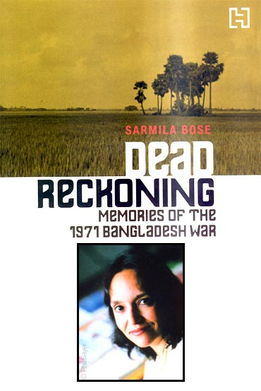 Sarmila Bose's book, Dead Reckoning. Inset: The author