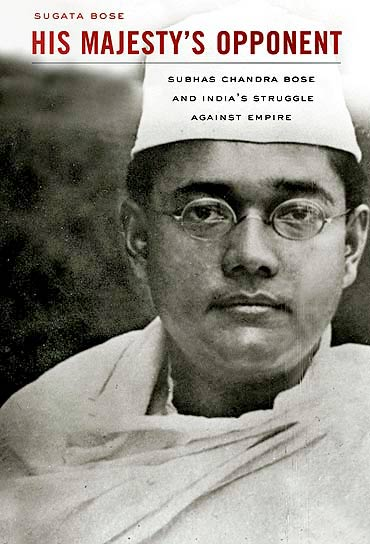 The cover of Sugata Bose's book