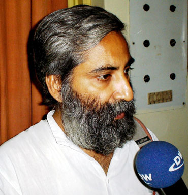 Sandeep Pandey is the youngest Indian to have won the award