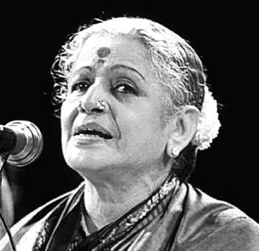 Legendary singer MS Subbulakshmi