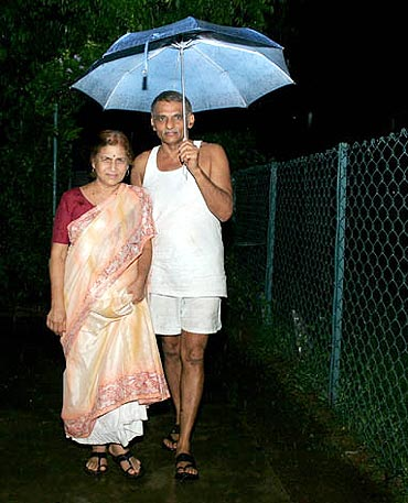 Prakash and Mandakini Amte