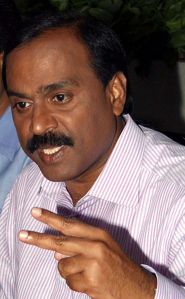File photo of G Janardhana Reddy, managing director of the Obalapuram Mining Company