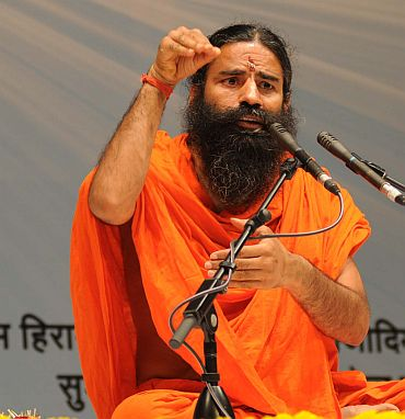 Will Ramdev create a rift in the civil society?