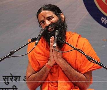 Is Baba Ramdev's hunger strike a gimmick?