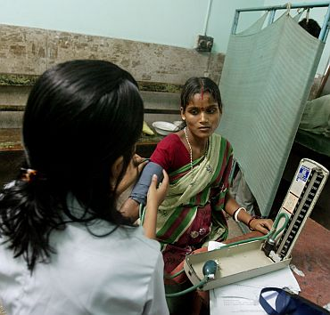 Only 53 pc of births in India are attended by skilled health personnel