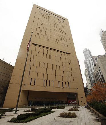 Chicago's Metropolitan Correctional Center where Headley and Rana are being held