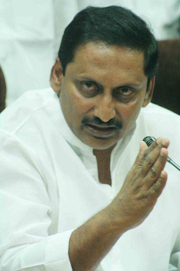 CM Kiran Kumar Reddy
