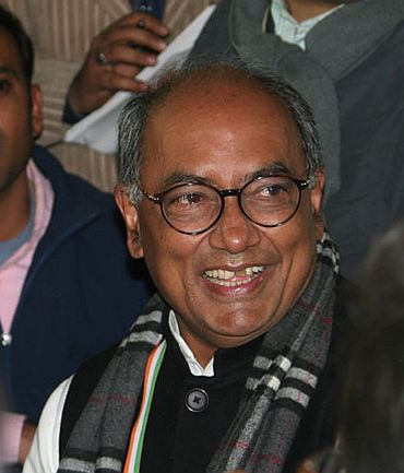 Digvijaya Singh, Congress in-charge in UP
