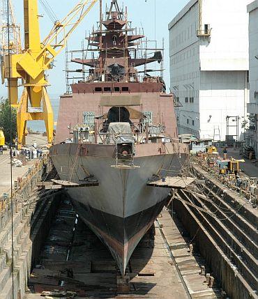 A Indian dockyard