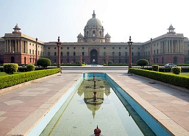 Ministry of Defence HQ in New Delhi