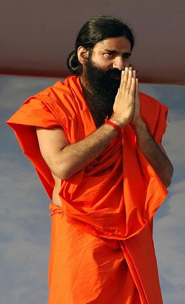 Congress has gold medal in scams, says Ramdev
