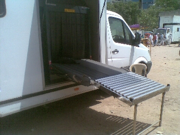 Sanners were placed at the ground to check bags carried by supporters