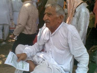Farmer Amit Chaudhury
