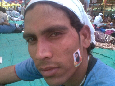 Ajay Kashyap, a final year MA student, is an ardent supporter of Ramdev
