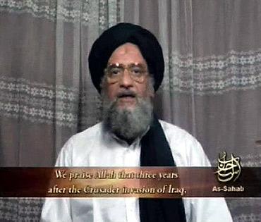Al Qaeda's deputy leader Ayman al-Zawahri