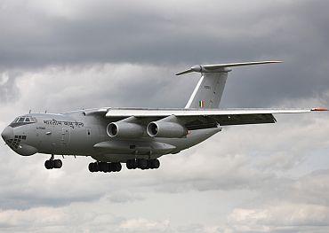 IAF's Ilyushin-76
