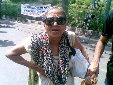 East Delhi resident Raj Rani said that she herself was a victim of corruption