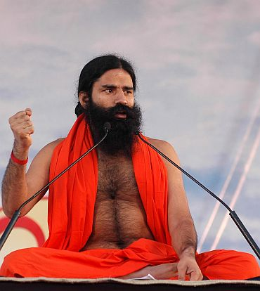 Baba Ramdev declares assets over Rs 1,100 cr