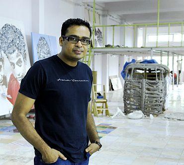 Artist Jitish Kallat
