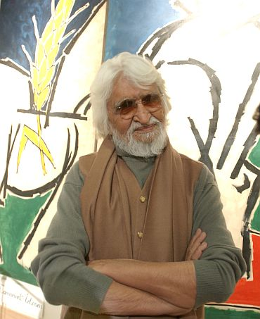 M F Husain