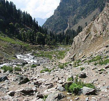 The Chandanwari route