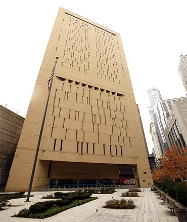 The Metropolitan Correctional Center, where David Headley and Tahawwur Hussain Rana are being held