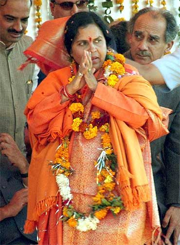 The politics behind Uma Bharti's return