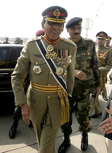 Pakistani Army chief General Ashfaq Parvez Kayani