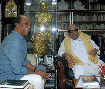 What Rajnikant wants Karunanidhi to do