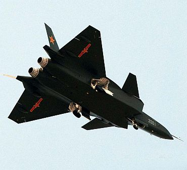 China's stealth fighter jet prototype