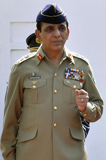 Pakistan Army Chief General Ashfaq Pervez Kayani
