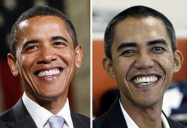 In PHOTOS: Spot the real Obama!