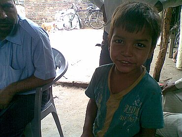 Sonam's five-year-old brother Armaan, an eyewitness to the incident