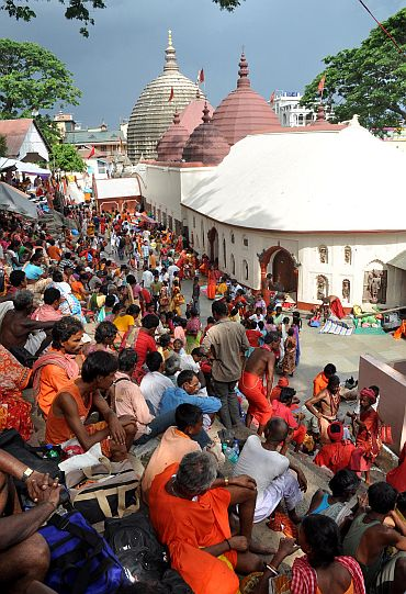 Devotees throng Kamakhya temple ahead of the Ambubach mela