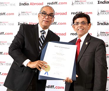Meet the winners of India Abroad awards 2010