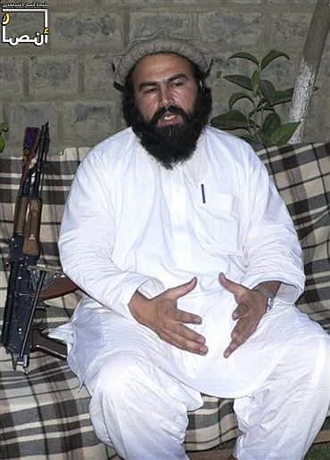 File photo of Pakistani Taliban leader Wali-ur-Rehman