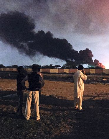 File photo of the Karachi attack