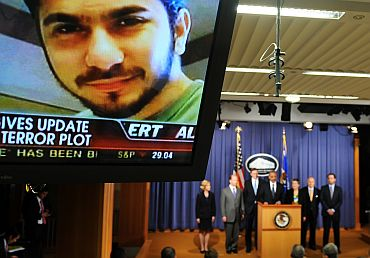 File photo of Shahzad, the Times Square terror plotter