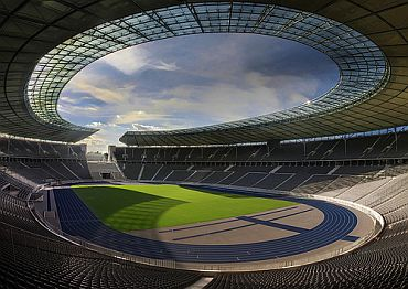 Some of the areas of the Olympiastadion stadium will be converted into the largest Yoga Park in Europe