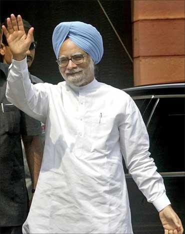 Prime Minister Dr Manmohan Singh