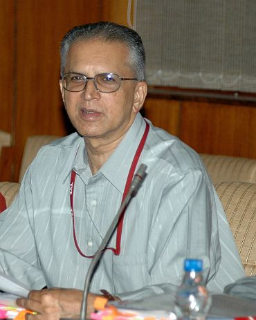 Home Secretary G K Pillai