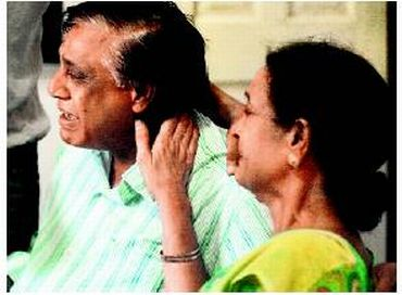 The grieving parents of Neeraj Grover